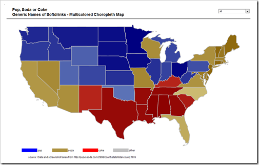 Multicolored Choropleth Map - click to enlarge