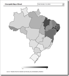 Choropleth Map Brazil - click to enlarge