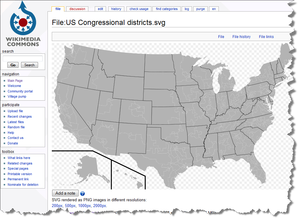 Build Your Own Choropleth Maps With Excel Clearly And Simply - Congressional us map
