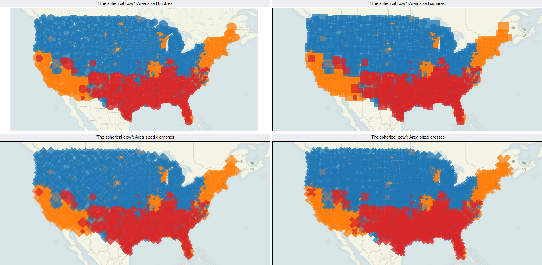 Choropleth Maps With Tableau Clearly And Simply - Map of us coke pop soda