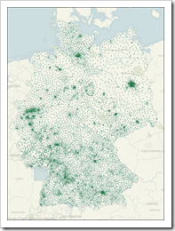 Postcode Map Germany