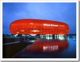 Allianz Arena - Home of FC Bayern Munich - click to enlarge