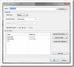 Parameter Sort Order enhanced - click to enlarge