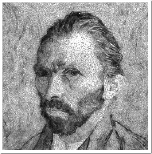 Vincent van Gogh's Self Portrait 1889