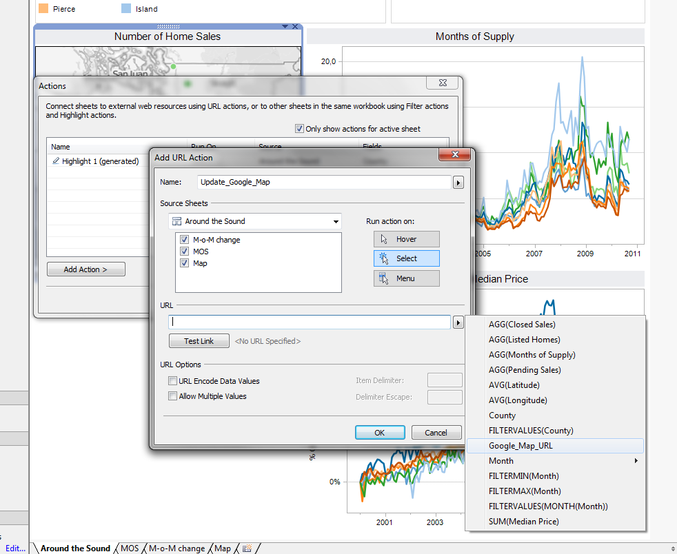 Web Page Objects on Tableau Dashboards - Clearly and Simply