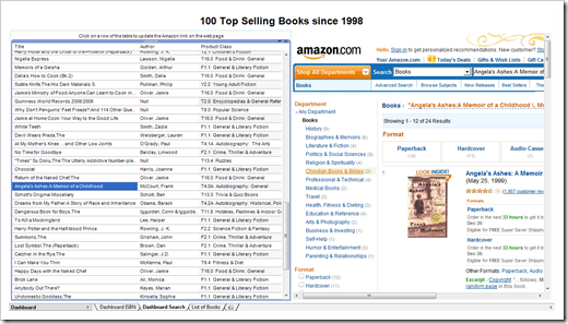 Amazon Link Search - click to enlarge