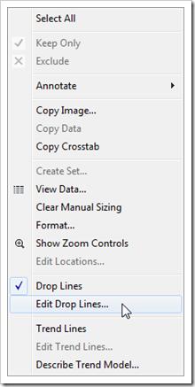 Edit Drop Lines - click to enlarge
