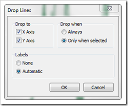 Drop Lines Settings - click to enlarge