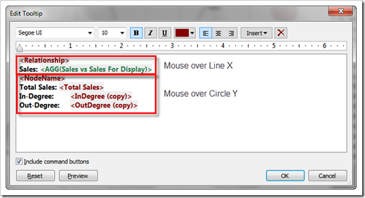 Step 6 – Calculated Fields and the Tooltips again - click to enlarge