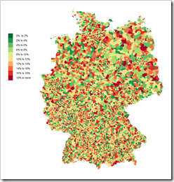 Germany by Zip Codes