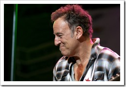 Bruce Springsteen at the Austin Music Awards - Photographer: Charlie Llewellin (flickr.com)