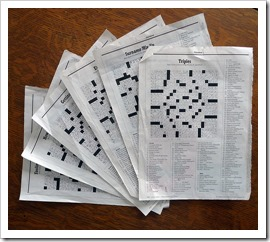 NY Mag Crossword - Photograper: Lori L. Stalteri (flickr.com)
