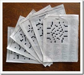 NY Mag Crossword - Photograper: Lori L. Stalteri (flickr.com)