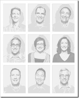 Tableau Management Dice Art Portraits