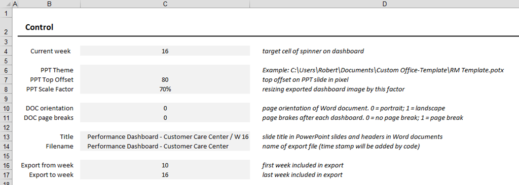 Export Excel Dashboards to other Applications - Clearly and Simply