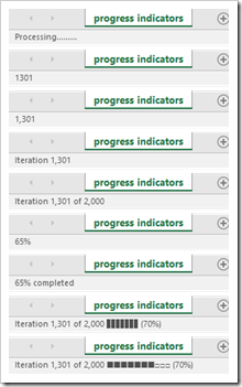 Status Bar Progress Indicators - click to enlarge