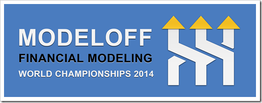 ModelOff's Financial Modeling Word Championships 2014