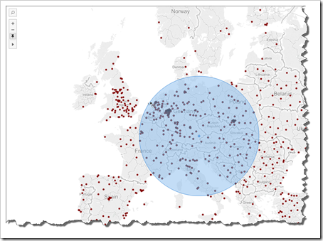 Tableau Radial Selection