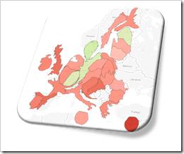 Cartogram EU