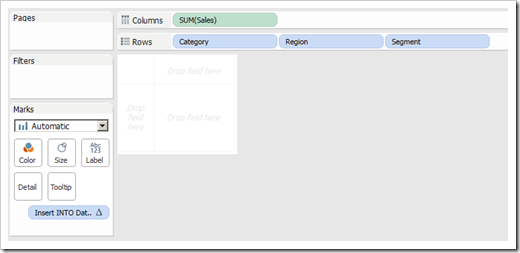 Tableau View and Table Calculation 2