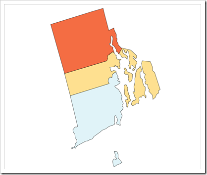 Choropleth Map Rhode Island (new version)