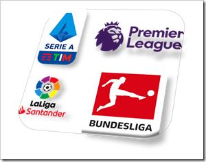 4 League Logos