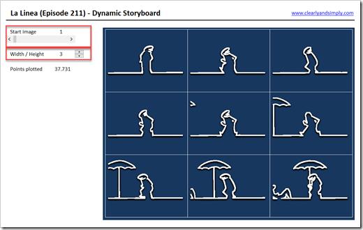 Dynamic Storyboard La Linea